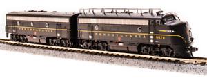 BROADWAY LIMITED 3805 N F7 A/B PRR 9676A/9676B DGLE A unit Paragon3 Sound/DC/DCC