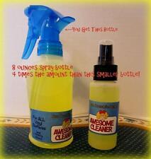 MEGA SUPPLY Awesome Cleaner Doll Doctors Secret Vinyl Gunk Removal 8oz Spray