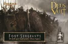 FOOT SERGEANTS - DEUS VULT - FIREFORGE GAMES - 28MM
