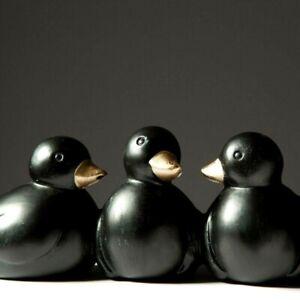 Family Duck Table Queue Ornament Figurine Sculpture Tabletop Home Office Decor S