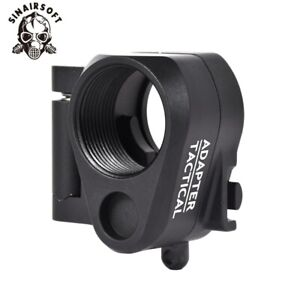Hunting Accessories Tactical Red Folding Stock Adapter
