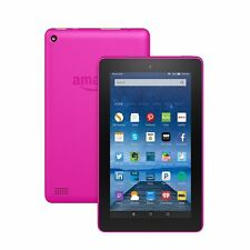 "Kindle Fire, 7"" Wi-Fi, 16GB -Special Offers, 2017 Version with ALEXA! (Magenta)"