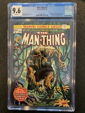 The Man-Thing 1 CGC 9.6 - 2nd Appearance Of Howard the Duck And Korrek.
