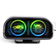 AUTO 12V2-precipito retroilluminazione a LED Inclinometro Misuratore di inclinazione Tilt Pitch ROLLING