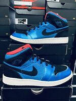 Nike Air Jordan 1 2012 Phat Neptune Blue Size GS 6.5Y / 8.0 WMNS 364781-408 RARE