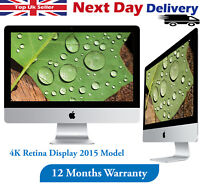 "Apple iMac 21.5"" 4K Retina 2015 Desktop Core i5 5th-Gen 3.1GHz 8GB RAM 1TB HDD"