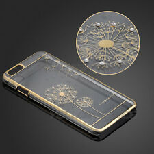 iPhone 6 Plus Luxury Diamond Bling Clear Case Film+MFI 3FT iPhone USB Data Cable