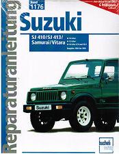 Buch Reparaturanleitung Suzuki SJ 410 / SJ 413 / Samurai / Vitara Band 1176