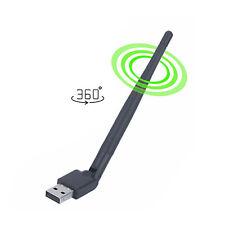RT5370 WiFi Antenna for TV Box iptv Stick Adapter Wireless WLAN USB Dongle 360°