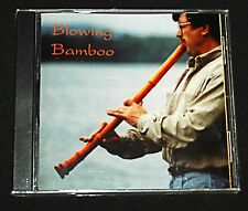 Blowing Bamboo : CD by Robert A. Jonas, Japanese Bamboo Flute NEW Sealed & Rare