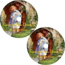 George MacDonald Childrens Audio Book Collection on 2 MP3 DVD Princess Free Ship