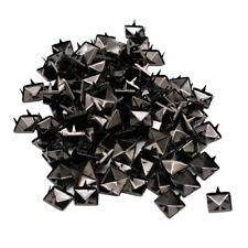 500 Set Pyramid Studs Square Rivets Punk Style Iron Leathercraft Supply 10mm