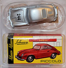 PORSCHE 356 coupé #244 MILLE MIGLIA 1955 ed. Techno Classica 1:90 SCHUCO PICCOLO