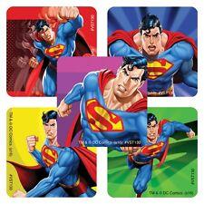 25 Superman Stickers Party Favors Teacher Supply  DC Comics Super Heroes