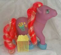 Vintage G1 Hasbro My Little Pony Caramel Crunch Candy Cane with Accessories