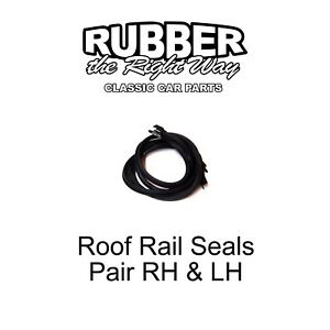 1970 1971 Ford Ranchero Roof Rail Seals - Pair