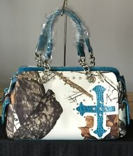 Concealed Carry Mossy Oak Camo Handbag (New Lower Price)