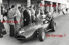 Tony Brooks Vanwall French Grand Prix 1960 Photograph 1