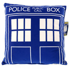 Doctor Who Tardis Square Cushion Pillow NEW Cushion Decorative Police Box