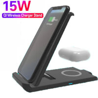 Galaxy S20//S10 6 in 1 Qi Wireless Charging Station BONLION 10W Wireless Charging Stand with USB-C PD 18W /& 2 USB-A /& 2 Outlets Compatible iPhone XS MAX//XR//XS//X Wireless Charger 5ft Extension Cord