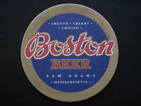 BOSTON BEER SAM ADAMS MASSACHUSETTS COASTER