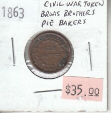 Usa Civil War - Broas Brothers Pie Bakers - Our Country - 1863