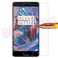 FRONT TEMPERED GLASS SCREEN PROTECTOR + BACK FILM COVER FOR ONE PLUS 3T
