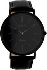 "Oozoo Vintage ""Black Edition"" Slimline sehr flach Ø44mm 7301"