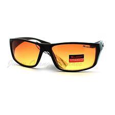 HD Vision DRIVING Lens SPORTS Fashion Sunglasses BLACK BROWN