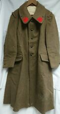 Ww 2 French Original M38 Great Coat Overcoat Ww Ii France