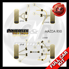 Mazda RX-8 Powerflex Black Complete Bush Kit