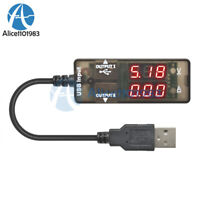 LED Digital USB Cable Charger Doctor Voltage Current Meter Tester Power Detector