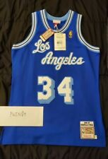 Shaquille O'Neal Mitchell & Ness Lakers Throwback Jersey Sz 44 Large