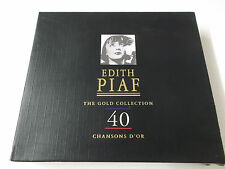 EDITH PIAF - THE GOLD COLLECTION - 2CD SET (1997) - 40 CHANSONS D'OR