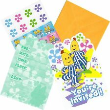 BANANAS IN PYJAMAS PARTY INVITATIONS BIRTHDAY SUPPLIES INVITES POSTCARD ENVELOPE