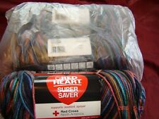 3 Skeins of Red Heart Super Saver Worsted Weight Yarn in Earthy  # 3991