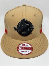 New Era Ghostbusters X NAS Beige Adjustable 9FIFTY Snapback Cap Hat NEW