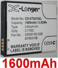 Batterie 1600mAh type  35H00184-01M BTR6410B Pour HTC Droid Incredible 4G LTE