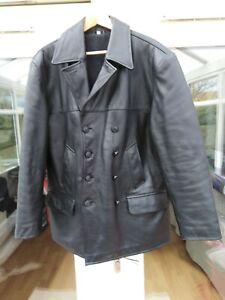 Kriegsmarine leather jacket made by Epic Militaria