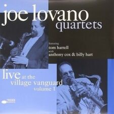 JOE QUARTET LOVANO-AT THE VILLAGE VANGUARD VOL.2 (REM-+DL-CODE) 2 VINYL LP NEW+