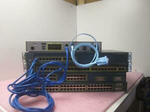 Advanced Cisco CCNA home lab kit Router IOS 12.1 + Router and L3 Switch^