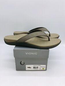 Vionic Adult Unisex 44Wave Slide Sandals Khaki US Men US 11M / Women US 12M