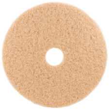 """Tan Floor Pads - 13"""" Floor Buffer / Polisher -Buffing Pads-1"""" Thick - 5 Pack"""