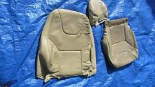 01-04 Volvo S60 V70 2.4T 2.5T OEM Beige Driver Left Side Leather Seat Cover