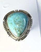 Navajo Wild Horse Ring by VICTOR CHEE Size 9 Sterling Silver 925