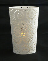 Large White Tea Light candle holders wedding decorations bistro Cafe event party