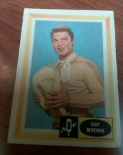 1960 Fleer Spins and Needles #11 Guy Mitchell ex