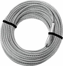 """KFI Steel Cable 2500-3500lb Winch Replacement Cable - 3/16"""" x 45.9"""""""