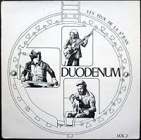 DUODENUM VOL.2 FRENCH FOLK / LES FEUX DE LA ST JEAN RARE 33T LP DIAPASON 002