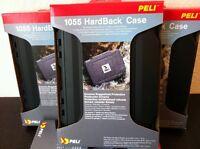 """NEU: Peli 1055CC Hard Back Case Tasche Hartschalenkoffer schwarz, bis 7"""""""